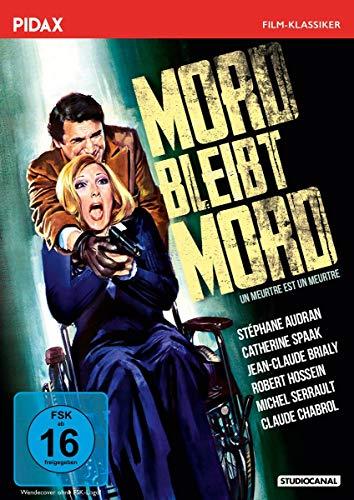 Mord bleibt Mord (Un meurtre est un meurtre) / Packender Psychothriller mit Starbesetzung (Pidax Film-Klassiker)