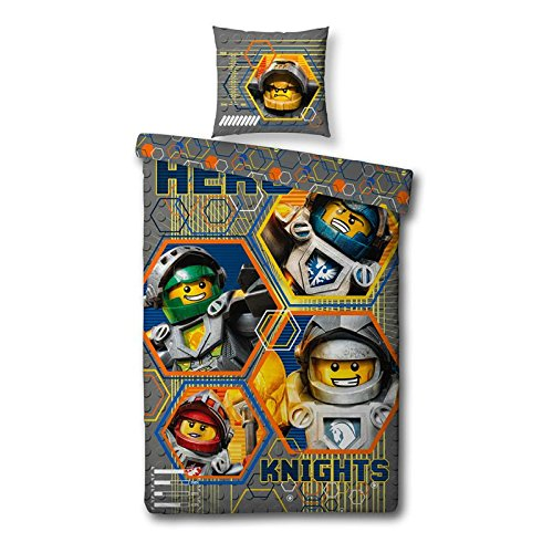 reversible-nexo-lego-knights-lawn-childrens-bed-linen-135-x-200-cm-80-x-80-cm-print-hero-new-boxed-a
