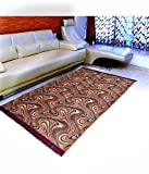 #6: Home Elite Floral Microfibre Anti-Allergic Carpet - 55