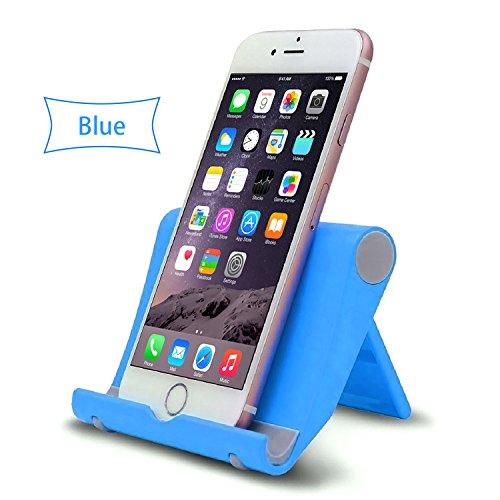 Lucklystar® Multi-Winkel Ständer Halter Für Tablets Ständer Mit Der 270° Drehung Zubehör Für Tragbare Geräte Für Tablets, Phablets, E-Reader, IPhone, IPad(Blau)
