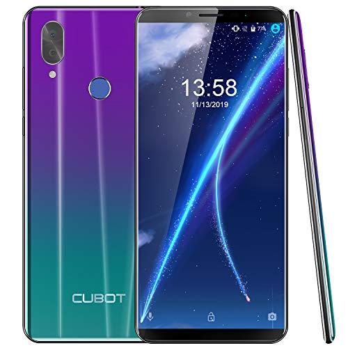 "CUBOT X19S 4G Dual SIM Smartphone ohne Vertrag, 5.93"" IPS FHD+ Touch Display mit 4000mAh Akku, 4GB Ram+32GB interner Speicher, Android 9.0, Octa-Core 2.0GHz, 8MP Frontkamera/16MP Hauptkamera(Gradient)"