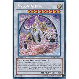 Yu-Gi-Oh! - Vylon Alpha (HA06-EN022) - Hidden Arsenal 6: Omega Xyz - 1st Edition - Secret Rare by Yu-Gi-Oh!