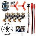 GEHOO DIY RC Mini Racer Drone kit with R6DSM/X9D/FS-X6B/RFASB Receiver 800TVL VTX+CAMERA 4in1 ESC F3 Flight Controller Motor