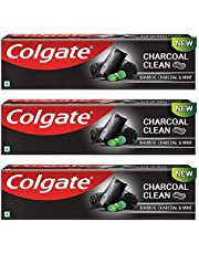 Colgate Charcoal Clean Toothpaste - 120 g (Pack of 3)
