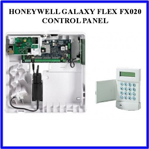 Z9J- HONEYWELL GALAXY FLEX FX020 C003-E2-K02 CONTROL PANEL WITH MK7 KEYPAD by Honeywell -