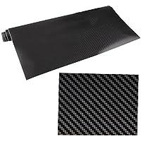 Rollo negro de fibra de carbono, película de sarga WINOMO 3D, tejido de vinilo, papel de regalo para coche, maletero y otros adhesivos