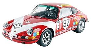 Minichamps 107716882-Porsche 911S-ADAC 1000Km 1971-Escala 1/18-Rojo/Blanco