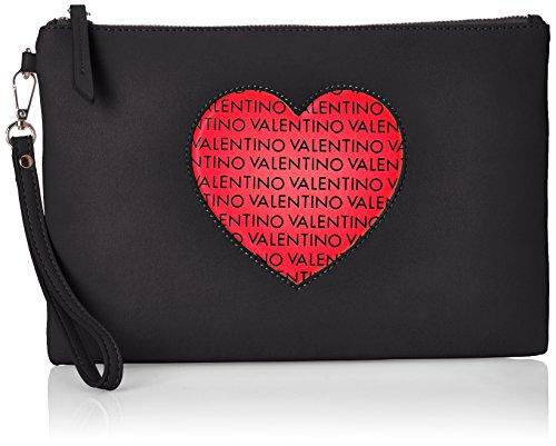 Mario Valentino VBS0IJ03, Sacchetto Donna, Multicolore (Multicolore (Nero/Multicolor 395)), 2.5x20.0x30.0 cm (B x H x T)