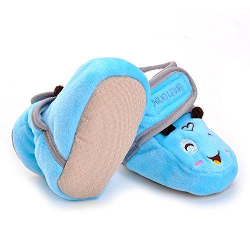 ESTAMICO , Chaussures souples pour bébé (fille) Bleu bleu 6-12 mois Bleu