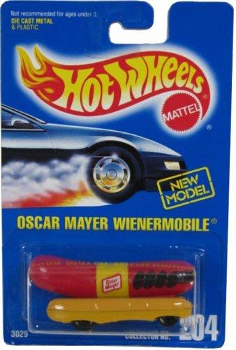 204-oscar-mayer-wienermobile-5-spoke-wheels-98-card-thailand-collectible-collector-car-mattel-hot-wh