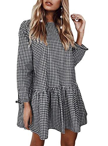 E-mail O Urlaub (FASTYLING Frauen Fashion Elegant Sweatshirt O-Neck Langarm T-Shirt Freizeit Sweatshirt s Herbst Tops Damen Langarm Langarmshirt Bluse)