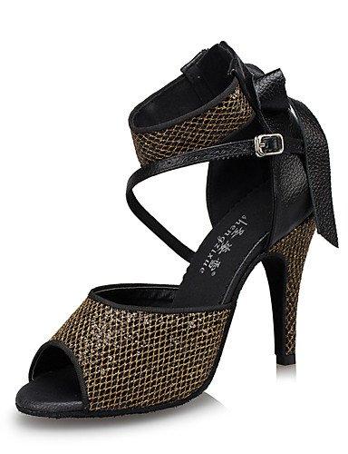 La mode moderne Non Sandales Chaussures de danse pour femmes personnalisables en cuir Cuir /latine Chaussures de Talon pratique moderne US7.5/EU38/UK5.5/CN38