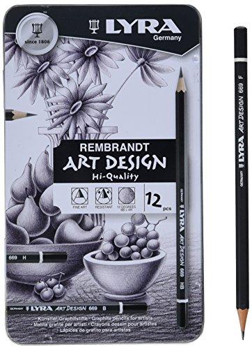 lyra-art-design-matita-di-grafite-finissima-in-confezione-di-metallo-12pz