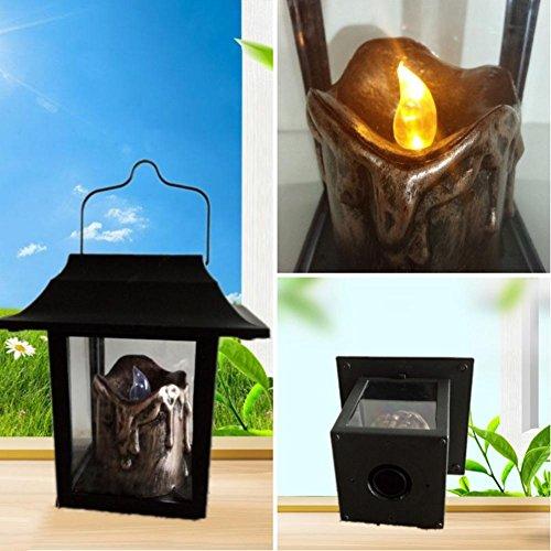Solarkerzenlicht Wasserdichte LED 0.6W Gartenschaukel Leuchtmittel