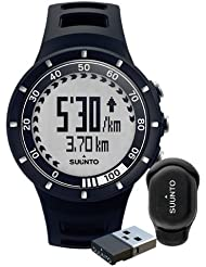 Suunto Quest Speed Pack / SS018155000 Cardiofréquencemètre Mixte Noir