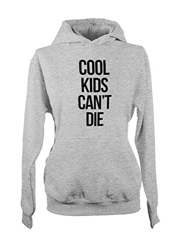Cool Kids Can't Die Femme Capuche Sweatshirt Gris