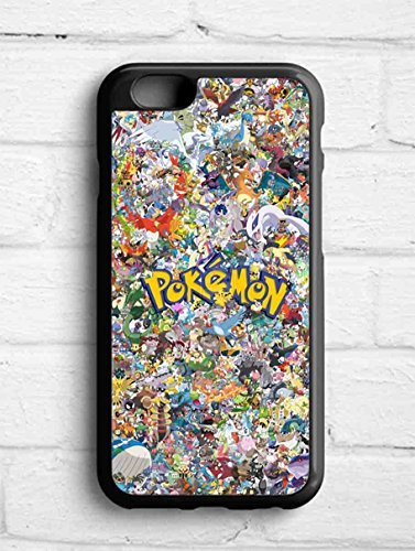 All Pokemon Character Collage for Cover iPhone 6 case X6N7YW