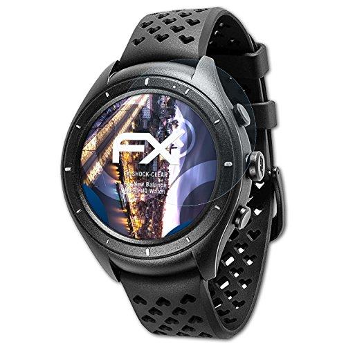atFoliX Anti-Shock Pellicola protettiva compatibile con New Balance NB RunIQ Watch Pellicola Proteggi, ultra chiara e che assorbe...
