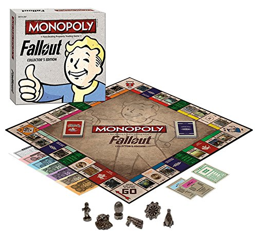 fallout 4 monopoly Monopoly: Fallout Collector's Edition - Exclusive by Monopoly