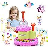 LUKAT Kinder Kreatives Spielzeug Mädchen Basteln Kinder Lernspielzeug Sticky Bubble Kit, Kinder DIY Magic Ballon/ Fun Geschenke für Kinder / Mädchen & Jungen ab Jahren 4 5 6 7 8 9 und höher