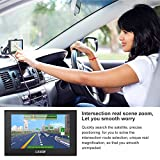 Sat Nav, LESHP 5 Inch Car GPS Navigation with UK Ireland Europe Maps & Free Lifetime Map Updates,8GB