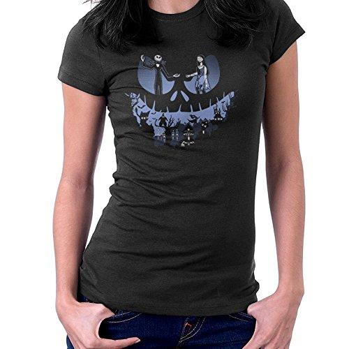 A Lovely Nightmare Before Christmas Jack Skellington Halloween Women's T-Shirt