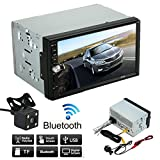 Doppel 2 Din Auto Stereo MP5 MP3 Player Radio Car Audio Bluetooth USB AUX + Parkkamera