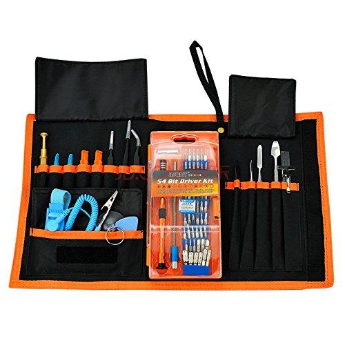 Crazyprofit Computer/Notebook/PC/Uhr/Schloss/Handy/Xbox Gehäuse & Fix klein DIY Craft Hand Reparatur Display Werkzeugset Set für Elektriker Follower Leuchtstofflicht elektronische Werkzeuge Tools JM-P01