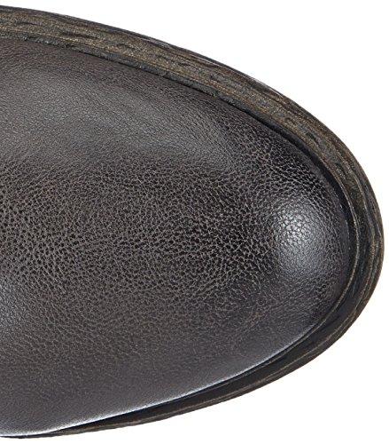 s.Oliver 25459 Damen Biker Boots Grau (GRAPHITE/CAFE 221)