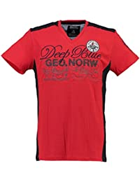 Geographical Norway - T-shirt - Multicolore - Col V - Homme