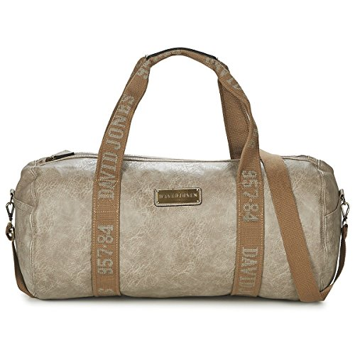 Sac de voyage polochon DAVID JONES CM0046-15 L.GREY