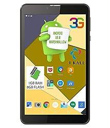 IKALL Unic U2 (1+8GB) Tablet 7 Inch (Wi-Fi+3G) Voice Dual Sim Calling - Black