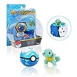Pokemon, Poké Bolas Pokéball, Pokemon Figuras de Acción, Regalos y Fiestas para Niños (Squirtle)