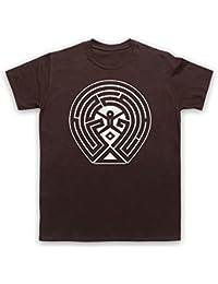 Westworld Maze Map T-Shirt des Hommes