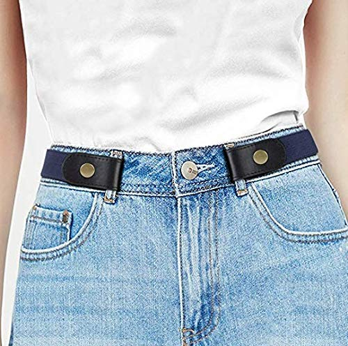 Wundertüte Anzug (YYCOOL Keine Schnalle Stretch Frauen Gürtel Buckleless Keine Ausbuchtung Kein Ärger Unsichtbare Gürtel Für Jeans Hosen Kleid)