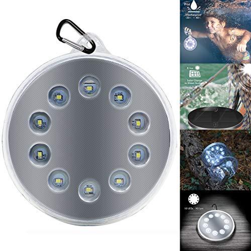 TianranRT Wasserdicht 10LED Solar Angetrieben Modern Lampe Außen Hof Außen Auftrieb Solar Licht