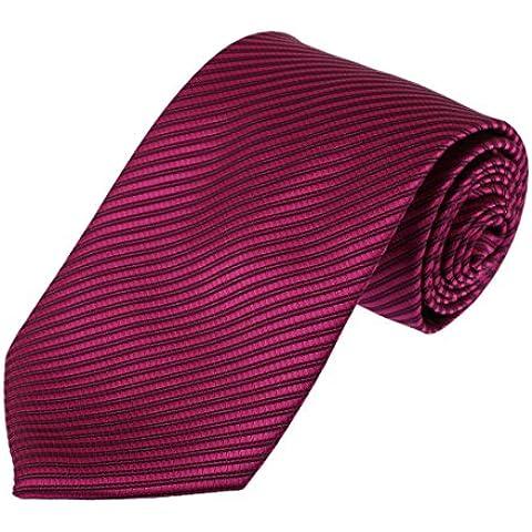 DAA3A01 Vacanze Multi Stripes microfibra Cravatte lavoro Regalo di Dan Smith