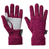 Jack Wolfskin Womens/Ladies Aquila Hardwearing Knitted Fleece Gloves
