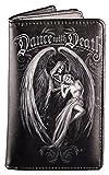 Gothic Geldbörse mit Todesengel Reaper | Dance with Death von Anne Stokes | Portmonee Portemonnaie Fantasy
