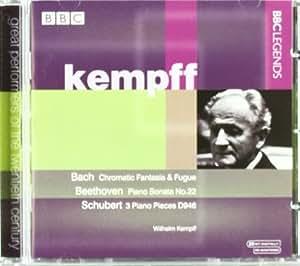 Kempff plays Bach, Beethoven & Schubert