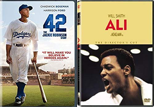 Heroic Heavy Hitters - 42 The Jackie Robinson Story & ALI (Director's Cut) 2-DVD Collection