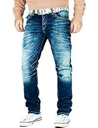 Cipo & Baxx - Jeans - Jambe droite - Homme bleu bleu