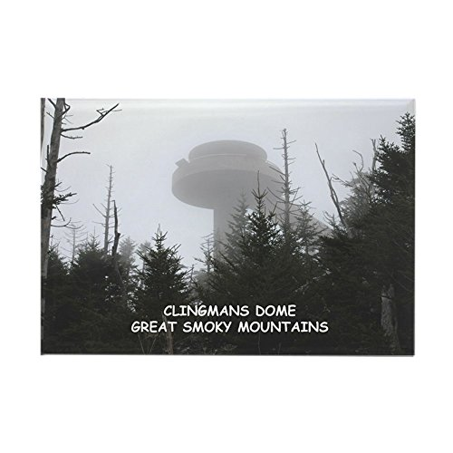 CafePress–Clingman39; S Dome dans le brouillard Aimants–Aimant rectangulaire, 5,1x 7,6cm Aimant de réfrigérateur