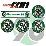 Hannover 96 Aufkleber / Sticker / Gesichtaufkleber FCB etiqueta engomada / autocollant H96