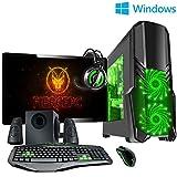 Fierce ULTRA SCHNELLE Zweikern Familie Gaming PC - Windows 10 - 3.9GHz AMD A-Series A4-6300 - Gaming, Büro, Familie PC - (WIFI, 16GB RAM, 1TB Festplatte, R7 Serie Grafik) - 222037