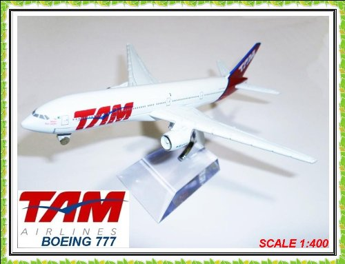 boeing-777-tam-airlines-metal-plane-model-16cm