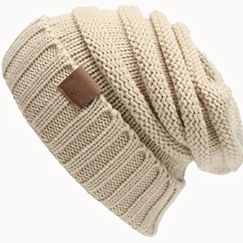 Unisex Wollknit Hut Kopfbedeckungen Im Freien Warme Hut -