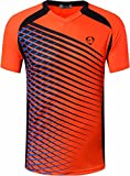 Jeansian Herren Sportswear Quick Dry Short Sleeve T-Shirt LSL230 Orange XL [Apparel]
