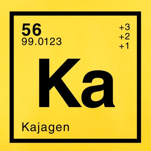 Kaja Periodensystem - Herren T-Shirt - 13 Farben Gelb