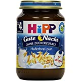 Hipp Gute Nacht Haferbrei pur, 6er Pack (6 x 190g)